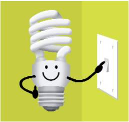 News:Switching off five lights in hallways and rooms in your house – when you  don't need them – can save around EUR 60 a year! This prevents the release  of ...,Lighting